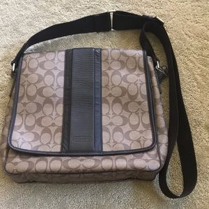 Men's coach bag